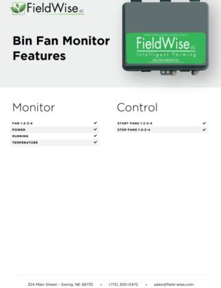 bin fan monitor