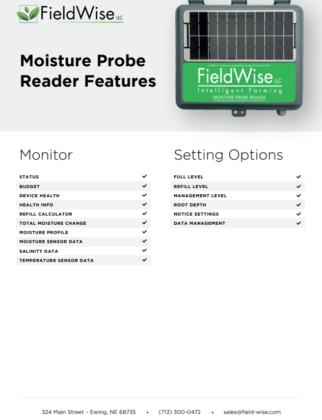 moisture probe reader