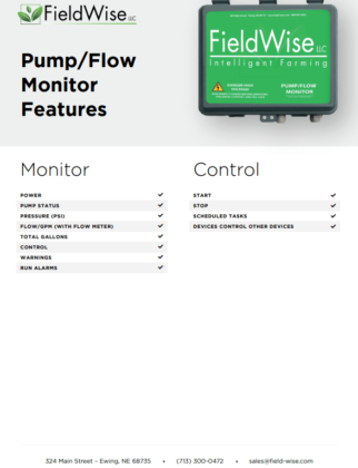 pump flow monitor